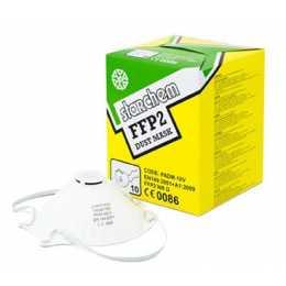 10 masques respiratoires FFP2 jetable à valve - peinture voiture